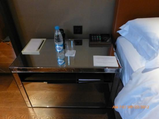 Bedside table with smart box control picture of ararat for Table moscow