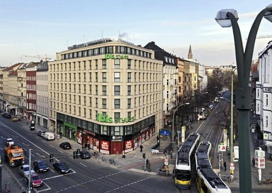 ibis styles Berlin Mitte: Aussenfassade
