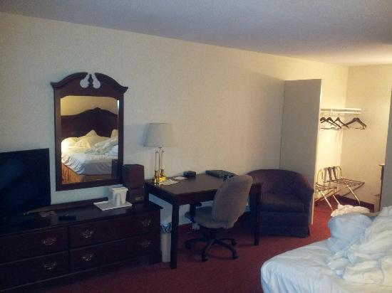 Quality Inn & Suites Maine Evergreen Hotel : room
