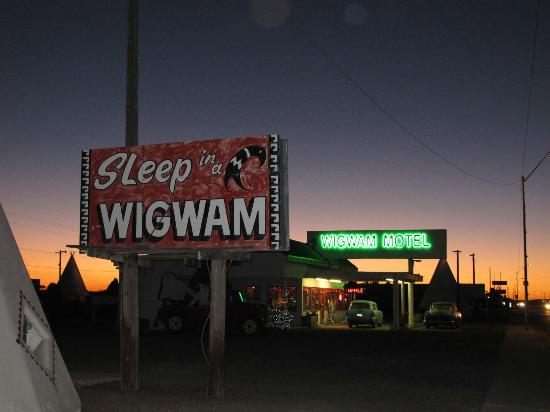 Wigwam Motel: Sleep in a WIGWAM