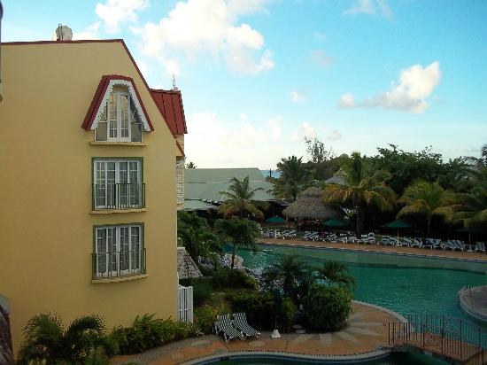 Coco Palm Resort: View from room #322
