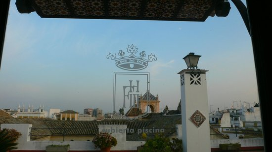 Fernando III Sercotel: terrazza