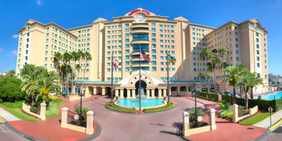 The Florida Hotel and Conference Center : Front of Hotel