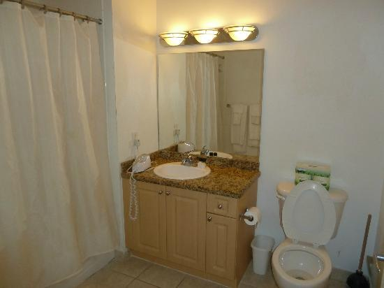 Churchill Suites Crown Miami Beach: bathroom