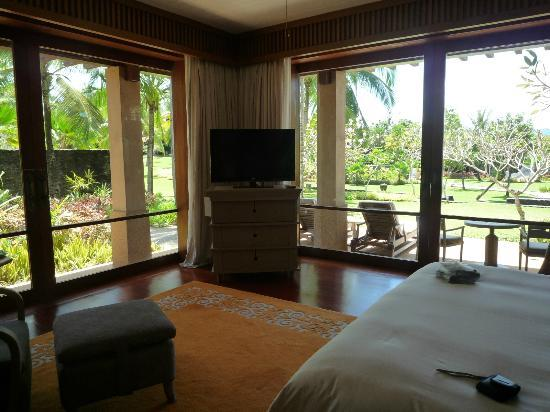 Four Seasons Resort Langkawi, Malaysia: never used the tv