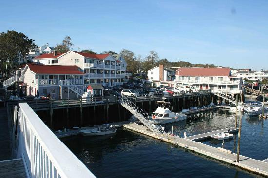 Tugboat Inn: This is view of the main building, left, and a second building.
