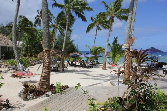 Manuia Beach Resort: Munuia beach area