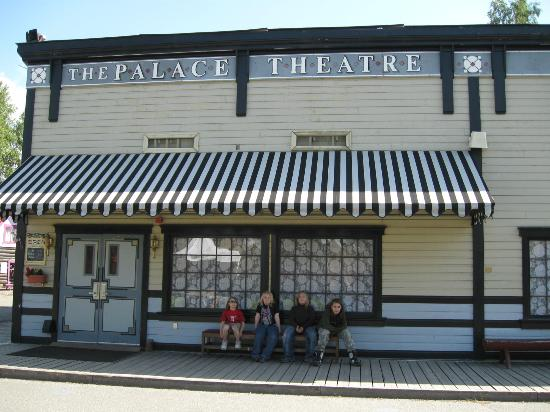 "Alaskaland - Pioneer Park: Palace Theatre; home of ""The Golden Heart Revue""."