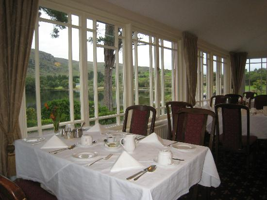 Gougane Barra Hotel: The dining room