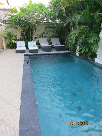 Villa Drupadi: Private pool