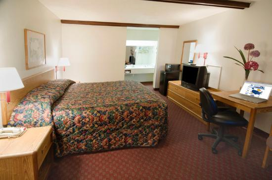 Americas Best Value Inn - Dothan: One King Bed