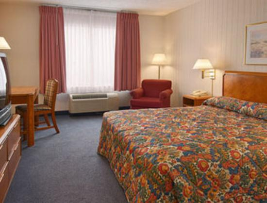 Fairfield Inn Chicago Willowbrook: Standard King Bed Room