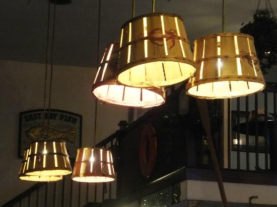 Creative lamp shades picture of west ashley crab shack charleston tripadvisor - Creative lamp shades ...