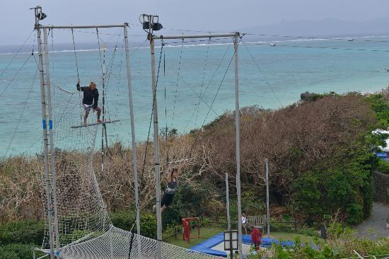 Club Med Kabira Beach: our room&#39;s view: Trapeze
