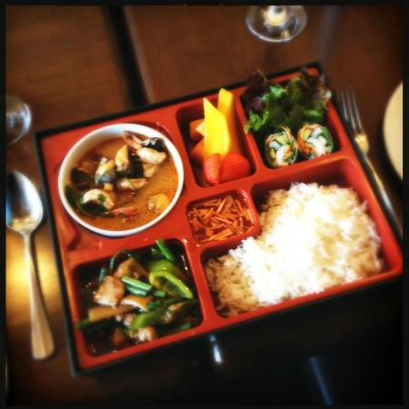 awesome thai bento box picture of awesome thai london tripadvisor. Black Bedroom Furniture Sets. Home Design Ideas
