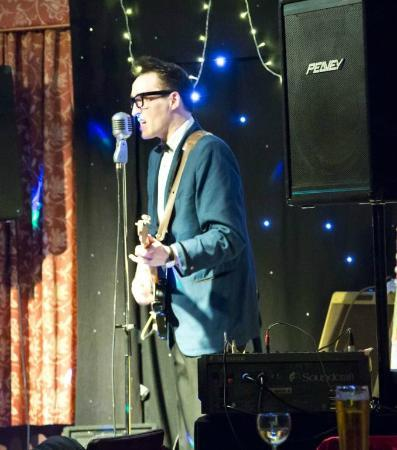 Abbey Grange Hotel: buddy holly tribute