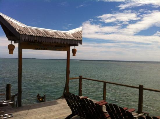 Spheredivers Homestay & Scuba Diving : Sundeck