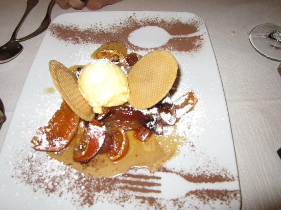 Il Seminario Bed & Breakfast: Dessert at Gli Orti di via Elisa a restaurant suggested by B&B