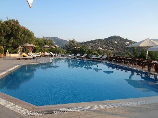 4reasons hotel+bistro: Pool view inland