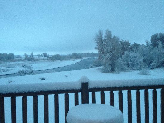 Rigby, ID: Snowy morning