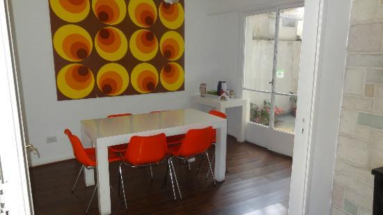 BA Soho Rooms: Communal Dining area (breakfast)