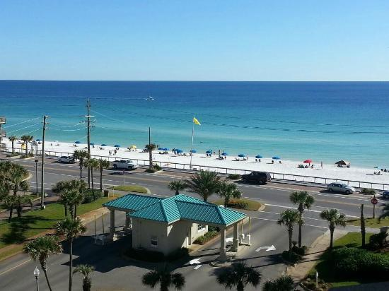 Wyndham Vacation Resorts at Majestic Sun: View from room 662.