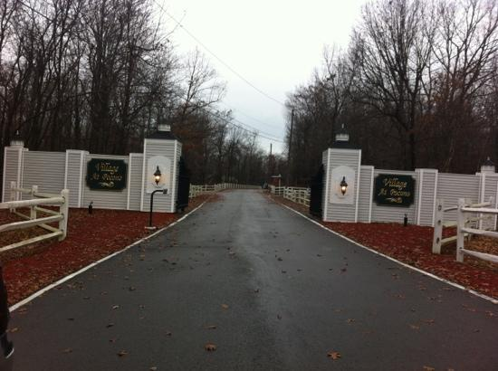 The Village at Pocono: entrance