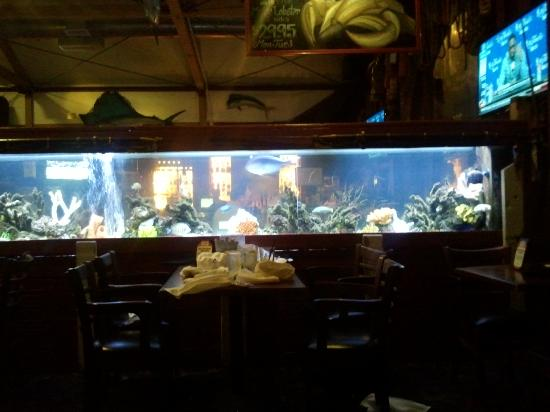 Cool fisherman decor throughout restaurant picture of for Fish restaurant santa barbara