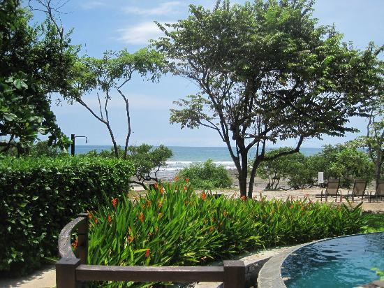 La Posada at Hacienda Pinilla: pool and beach at the beach house