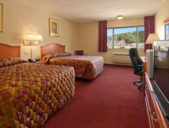 Super 8 Poughkeepsie: Standard 2 Queen Bed Room