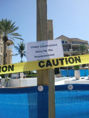 The Somerset on Grace Bay : Yes - it was inconvenient! Would have been nice to know.