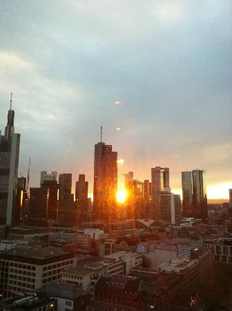 Jumeirah Frankfurt: View from our room