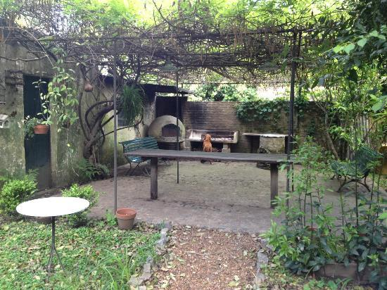 Teresita Bed &amp; Breakfast : Outdoor kitchen for cooking classes