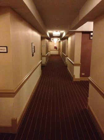 Sheraton Centre Toronto Hotel: Hallway
