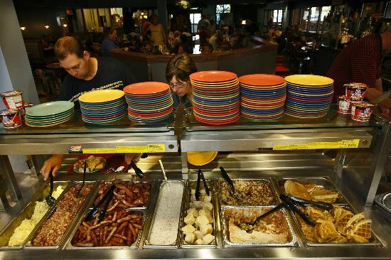 Hot Breakfast Buffet Picture Of Elf Hollow Cafe