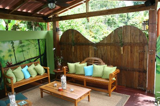 Physis Caribbean Bed & Breakfast: Relaxation area
