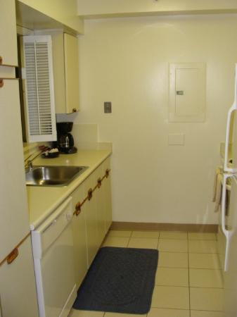 Crystal Quarters Corporate House: kitchen area