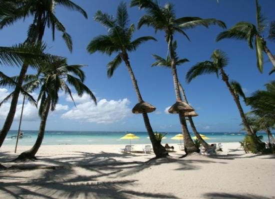 U.S. Virgin Islands: Boracay Island Beach