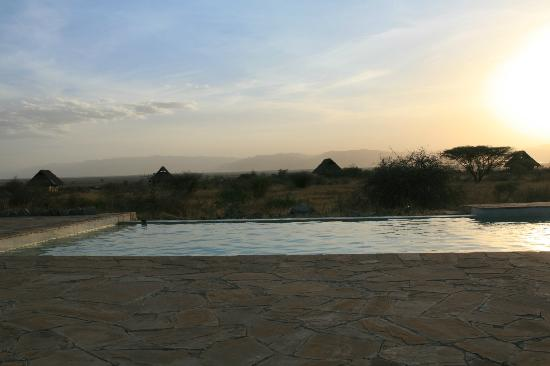 Oremiti Tented Lodge: Piscine