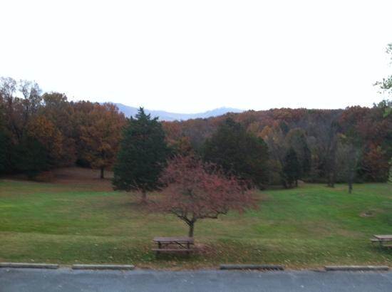 Luray Caverns Motel East : view from balcony room