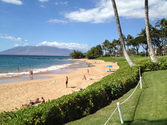 Wailea Elua Village: The beach adjacent to Elua Village