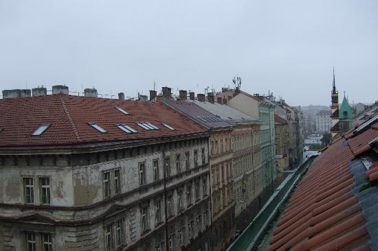 La Boutique Hotel Prague: View from River (2 mins down the road)
