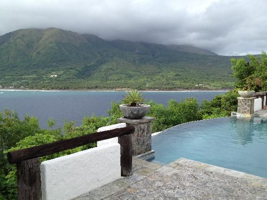 Bellarocca Island Resort and Spa: view from the deck