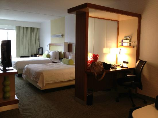 Springhill Suites by Marriott San Antonio Downtown / Alamo Plaza: Standard 2 Queen room