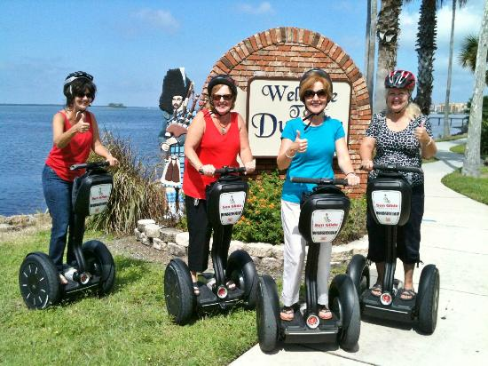 Sun Glide Tours Via Segways