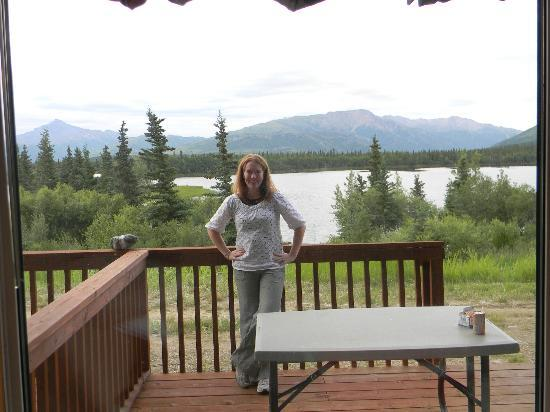 Denali Lakeview Inn: View from our room