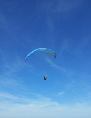 Surba, France: Parapente en Arige