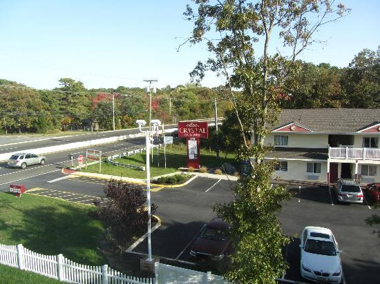 Clarion Inn & Suites Atlantic City North: View from Room