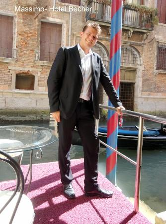 Hotel Becher: Massimo- manager - so helpful and kind