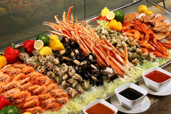 Signature seafood dinner buffet chilled seafood station picture of